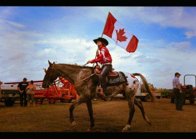 Girl on Horse Canada