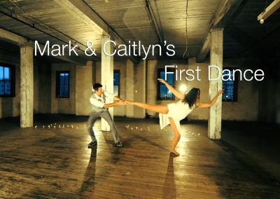 Mark & Caitlyn's First Dance